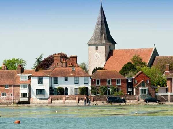 A church in Chichester by the river